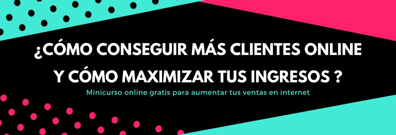 ¿Cómo conseguir más clientes online y cómo maximizar tus ingresos ?